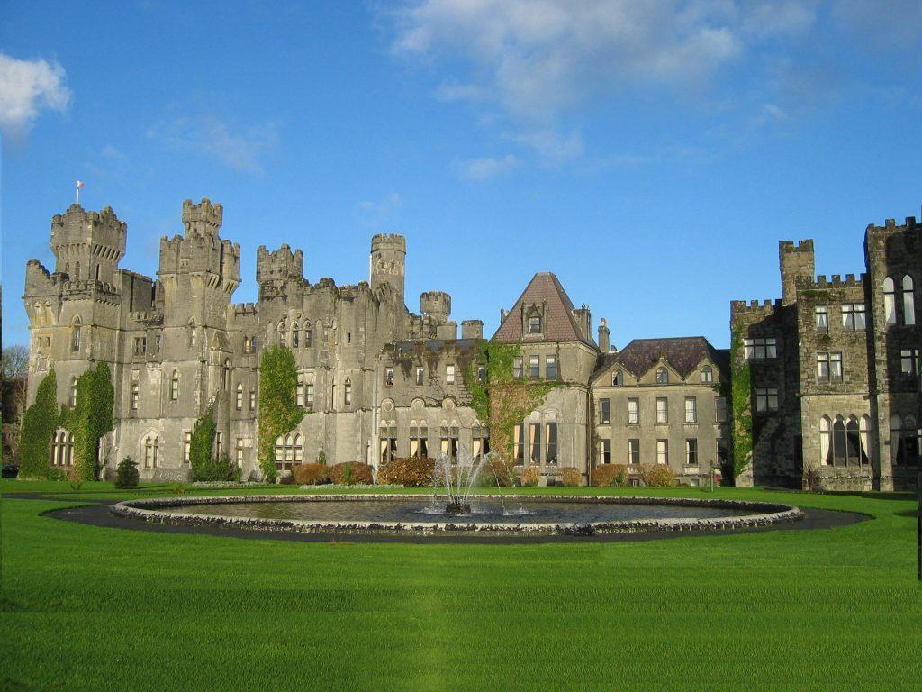 Ashford Castle is one of the best castles in Ireland.