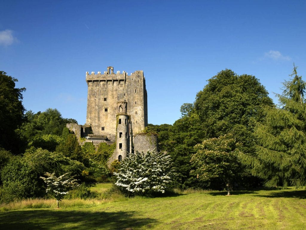 Kiss the stone at Blarney Castle.