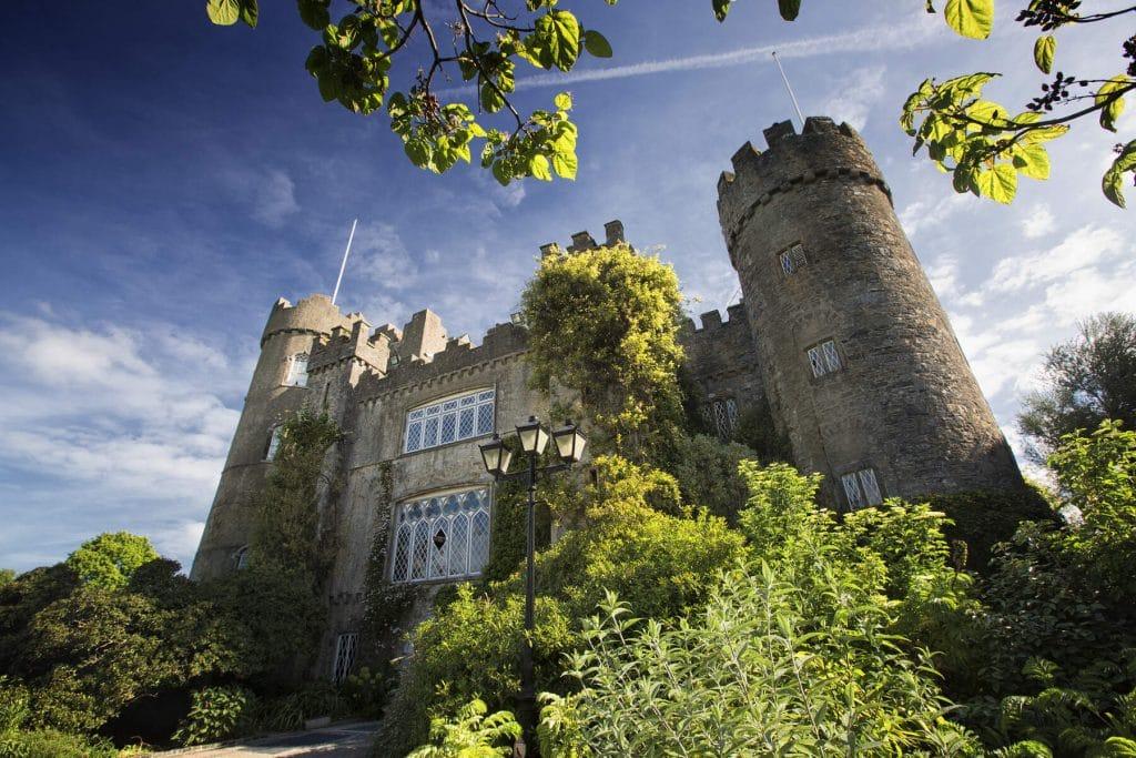 Malahide Castle is in Dublin.