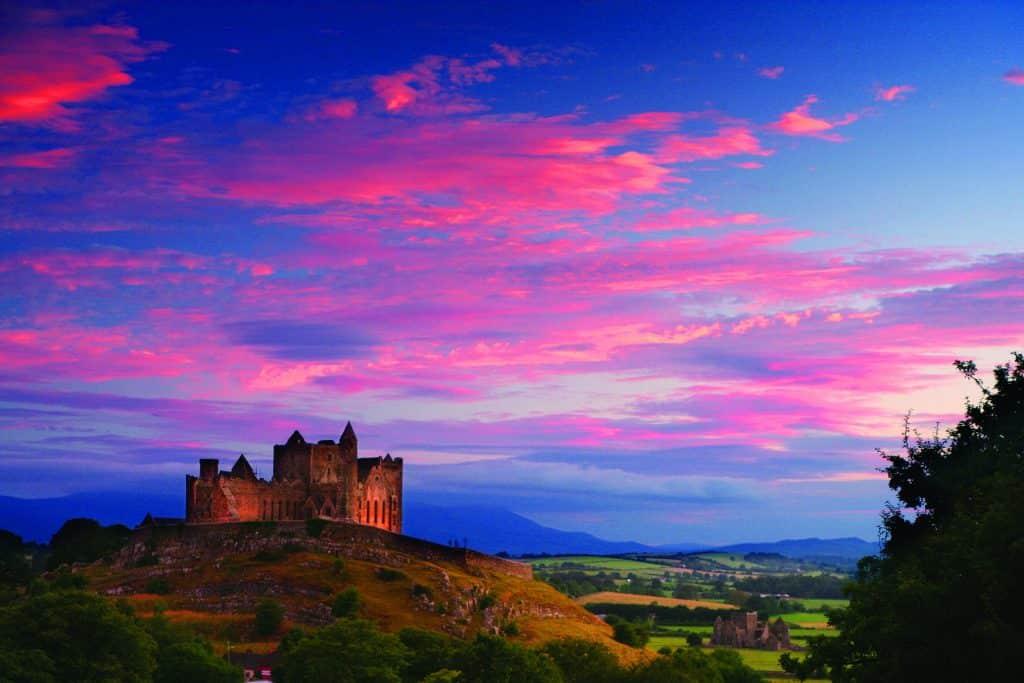 The Rock of Cashel is one of the best castles in Ireland.