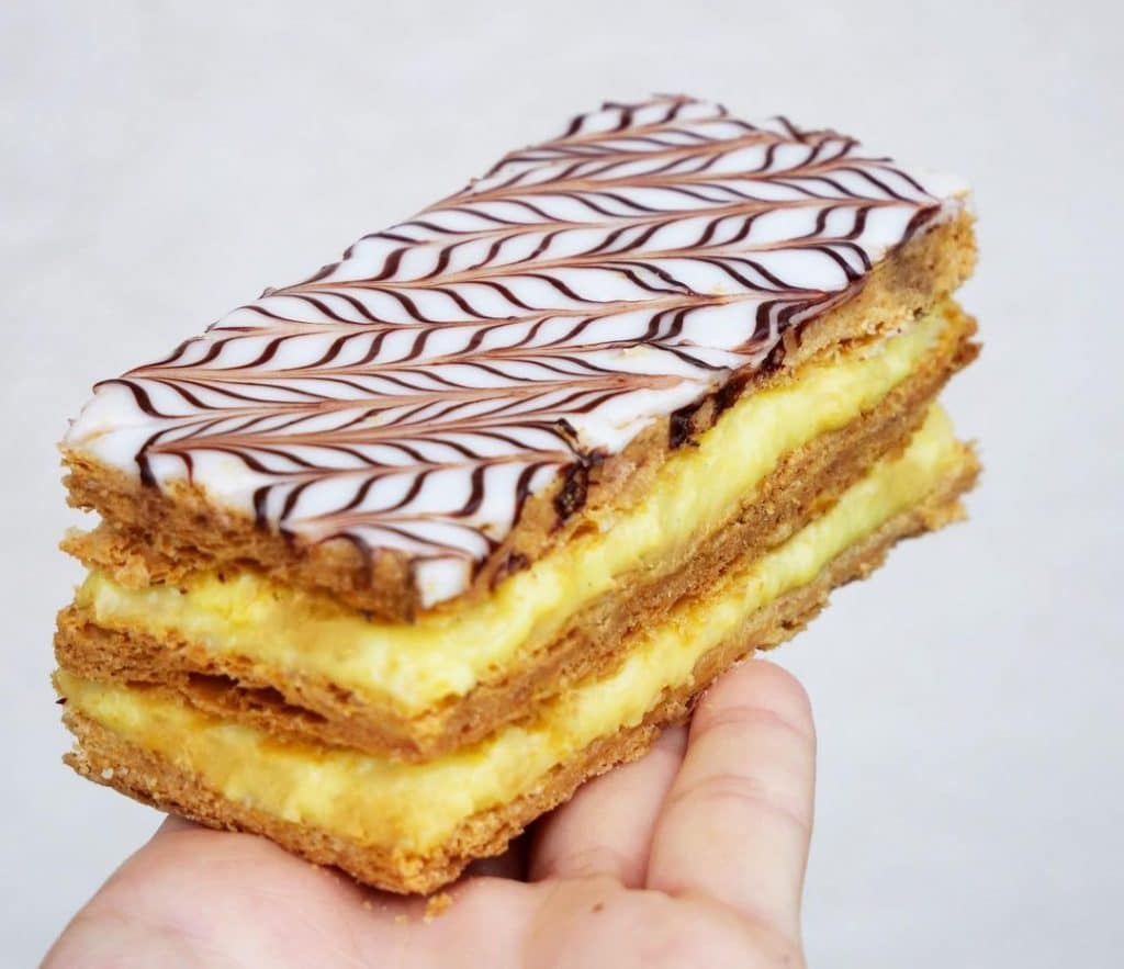 Everyone needs to try a mille-feuille.