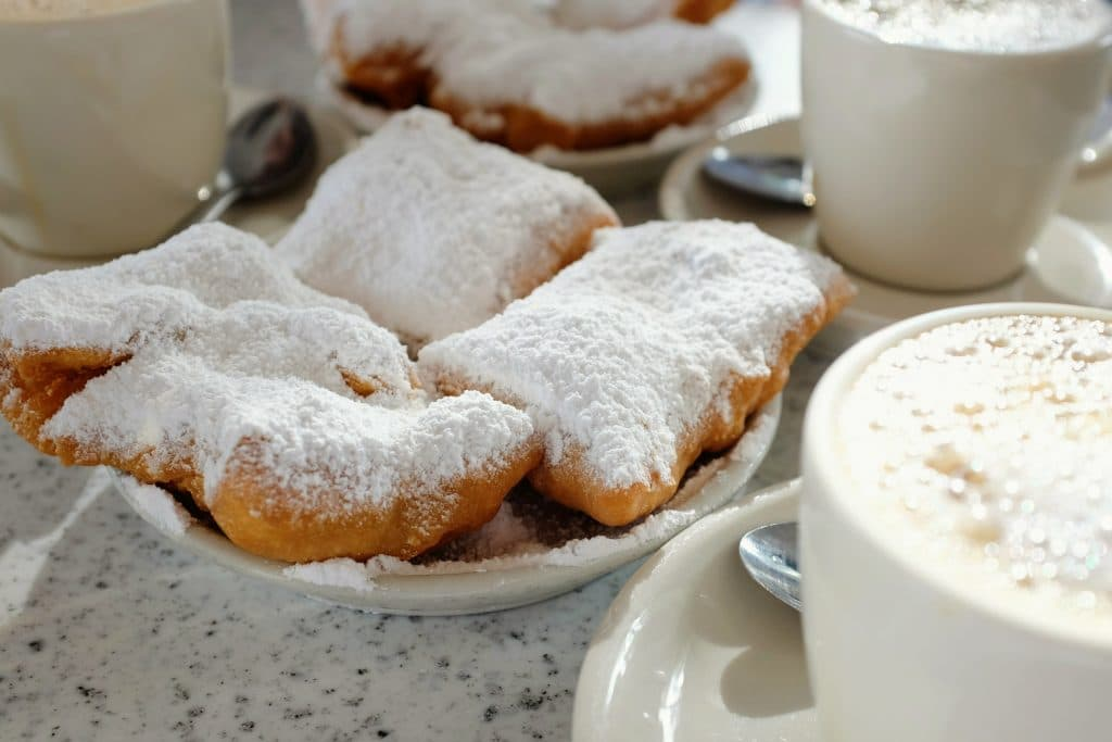 Beignets are the official state donut of New Orleans.