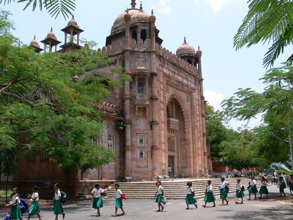 The Madras Museum is one of the largest museums of the world.