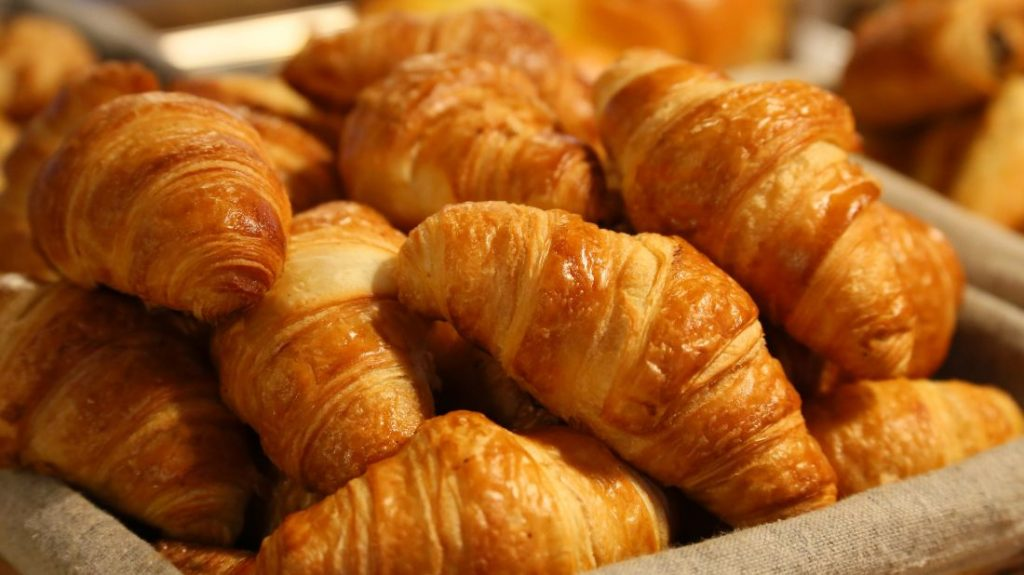 Croissants are one of the best French pastries.