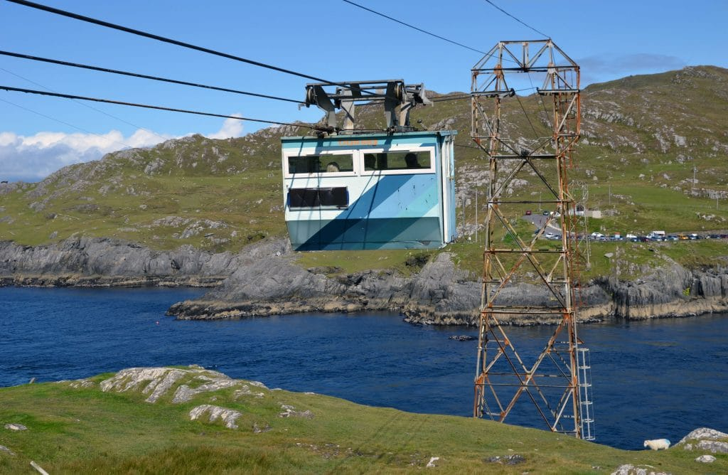 Dursey Island Cable Car is one of the great things to do in Ireland.