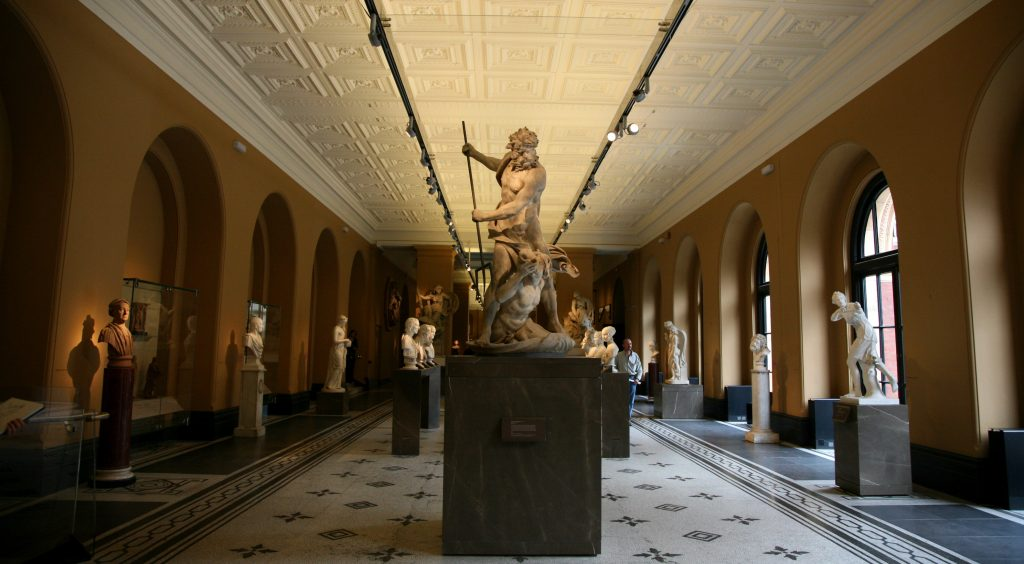 The Victoria and Albert Museum is one of the largest museums of the world.