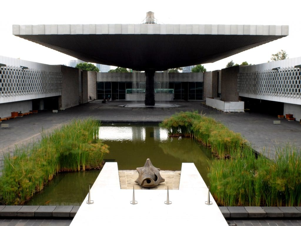 The National Museum of Anthropology is a controversial museum.