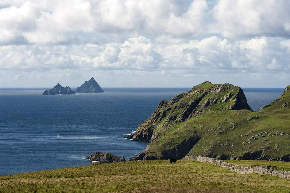 Skellig Island is one of the great things to do in Ireland.