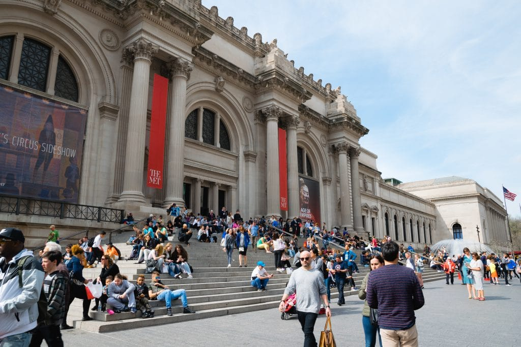 The MET is one of the largest museums of the world.