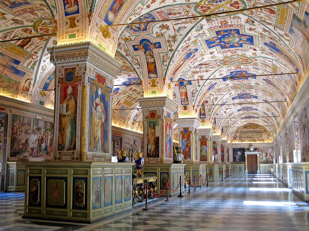 The Vatican Museums are the oldest in the world.