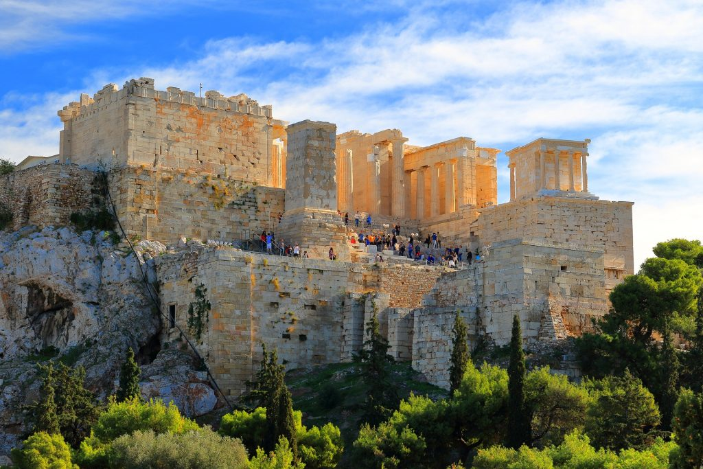 The Acropolis will give you an insight to Ancient Greece.