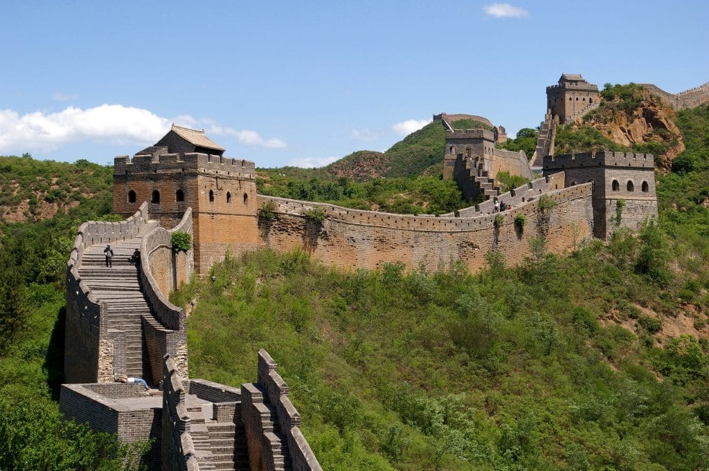 The Great Wall in China is a historic military structure.