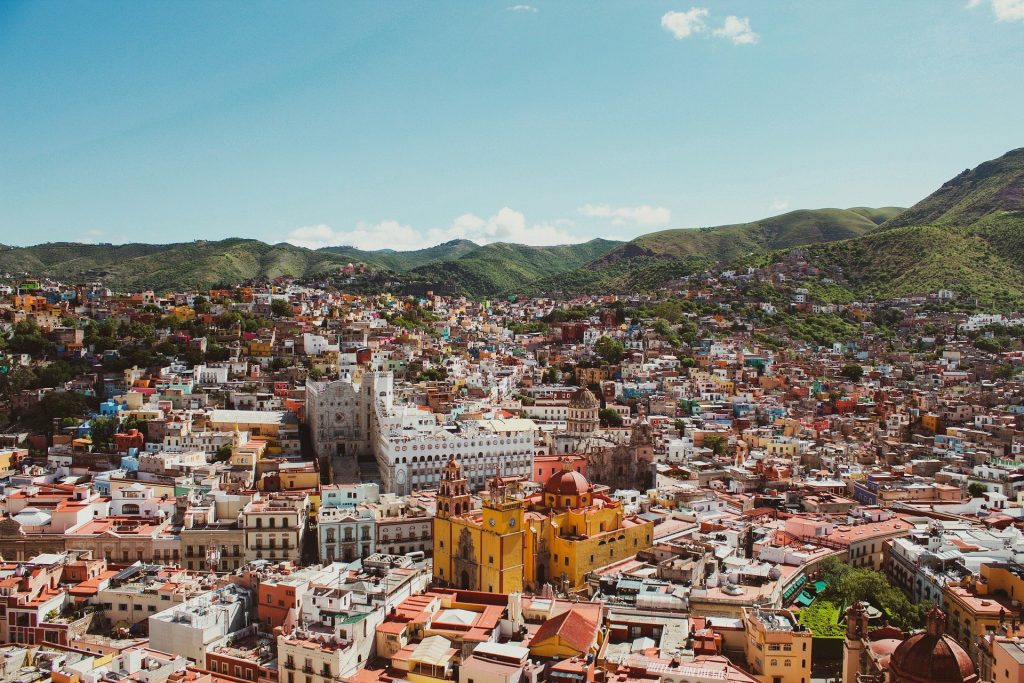 One of the most visited countries in the world is Mexico.