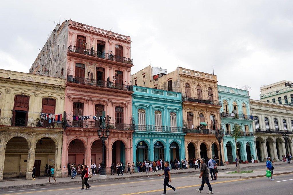 Old Havana in Cuba is one of the top 10 UNESCO World Heritage Sites.