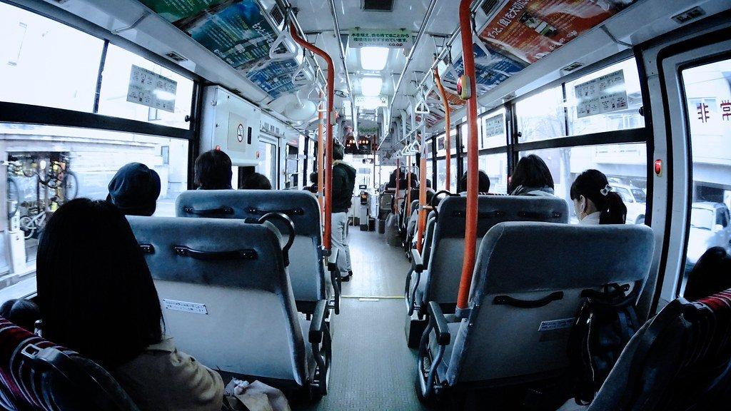 Consider using public transport.
