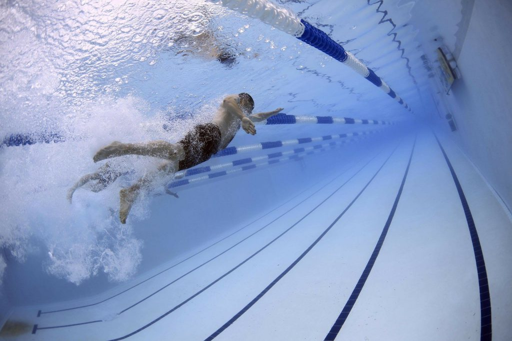 Swimming is one of the safest sports in the world.