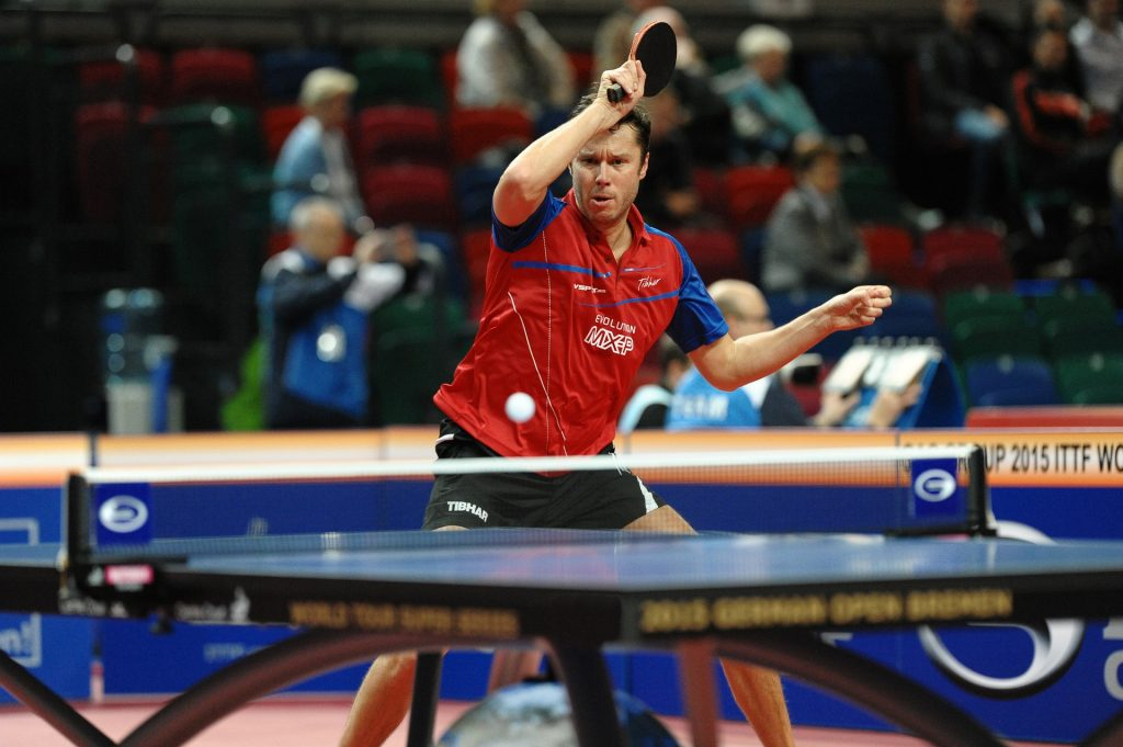 Table tennis is one of the safest sports in the world.