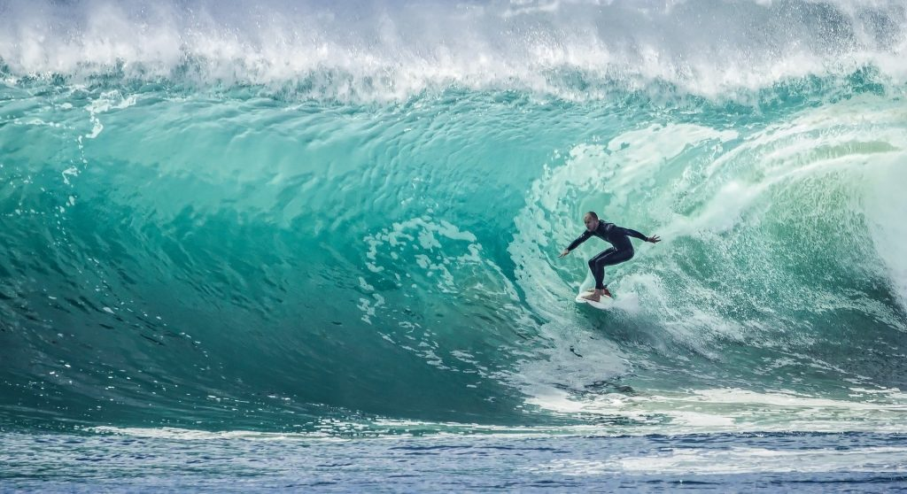 Big wave surfing is one of the most dangerous sports in the world.