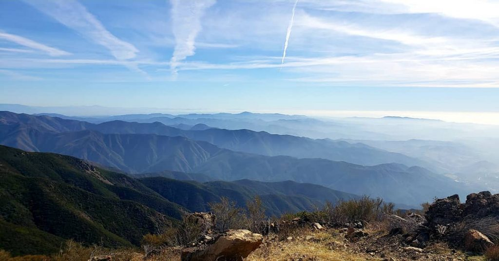 Saddleback Mountain is one of the best hikes in Orange County.