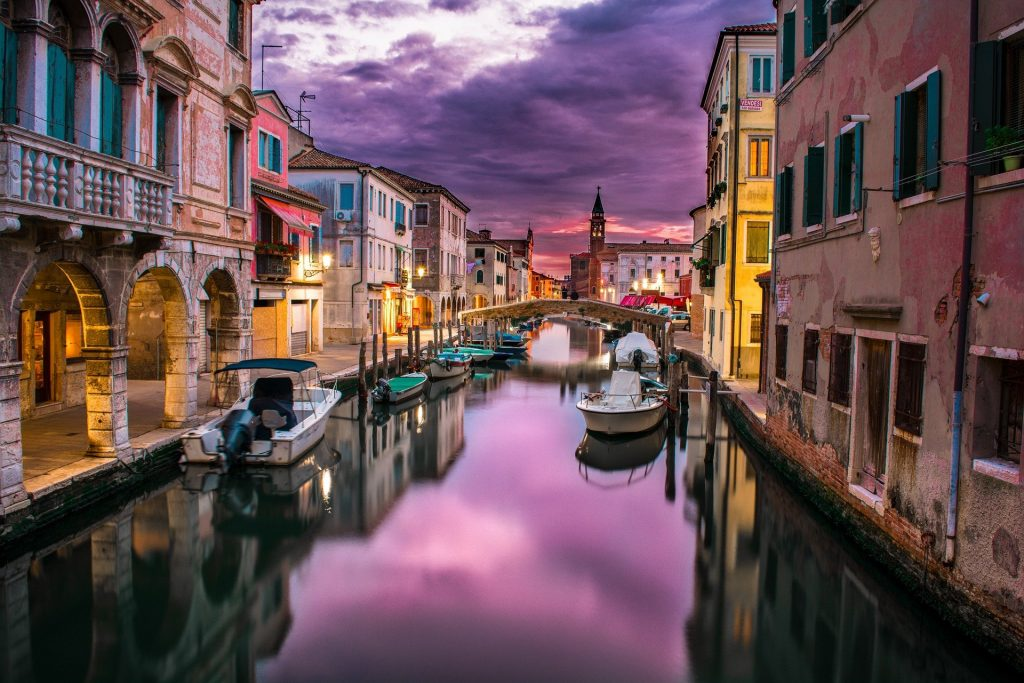 Italy is one of the most visited countries in the world.