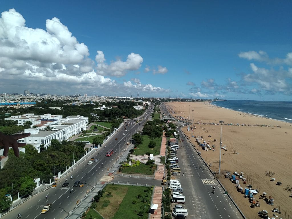 Chennai tops our list of the best places to visit in South India.