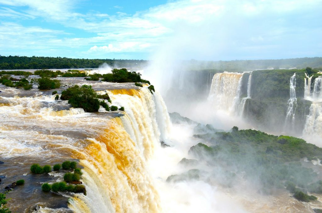 Iguazu Falls is one of the best places to travel in South America.