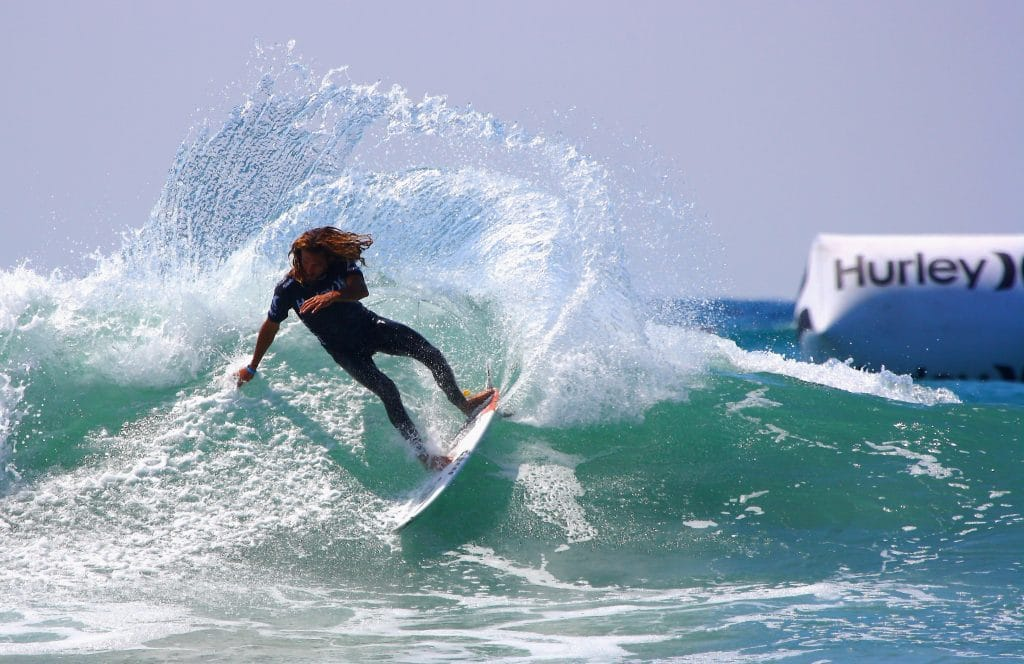 Trestles is home to smaller waves.