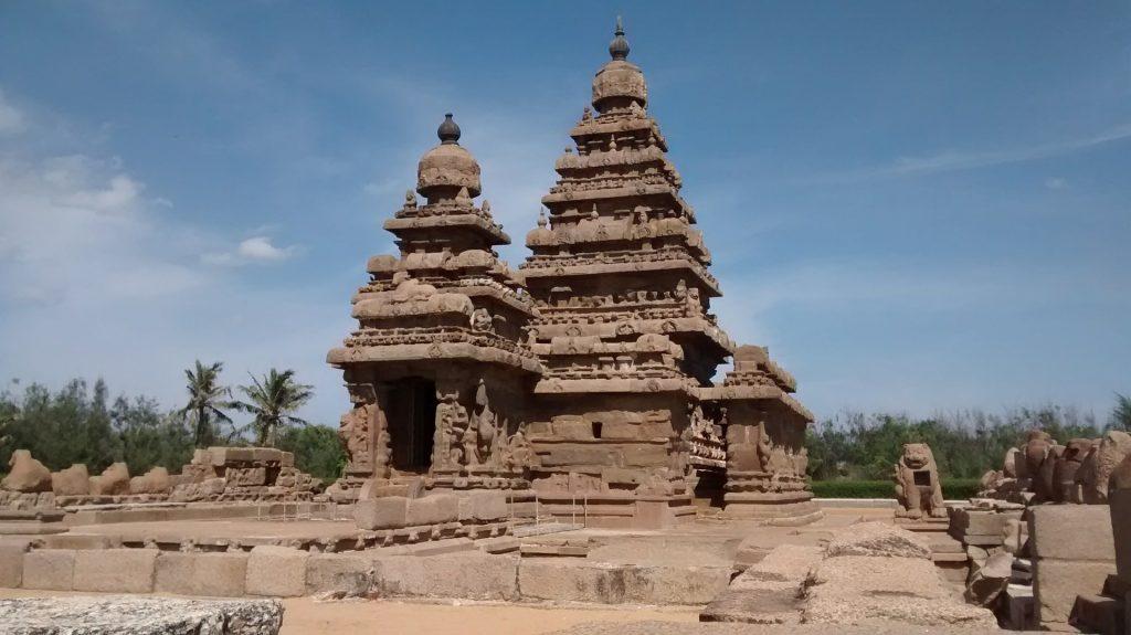 Mahabalipuram is a UNESCO World Heritage SIte.