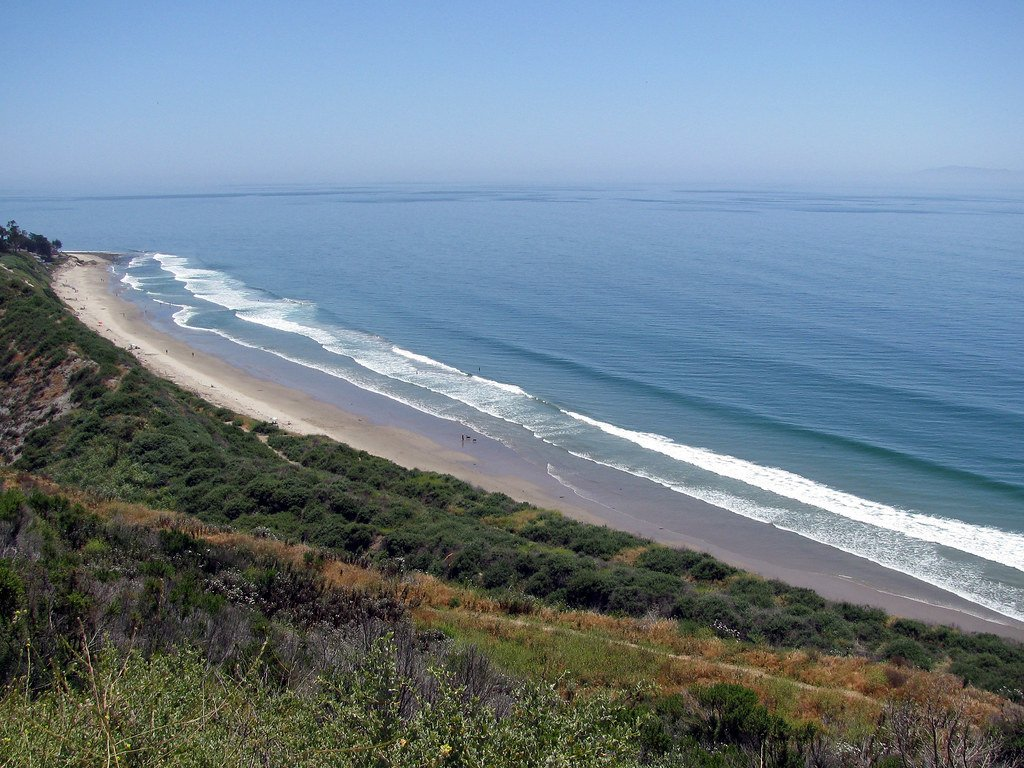 Rincon Point is a must-visit for surfing in California.