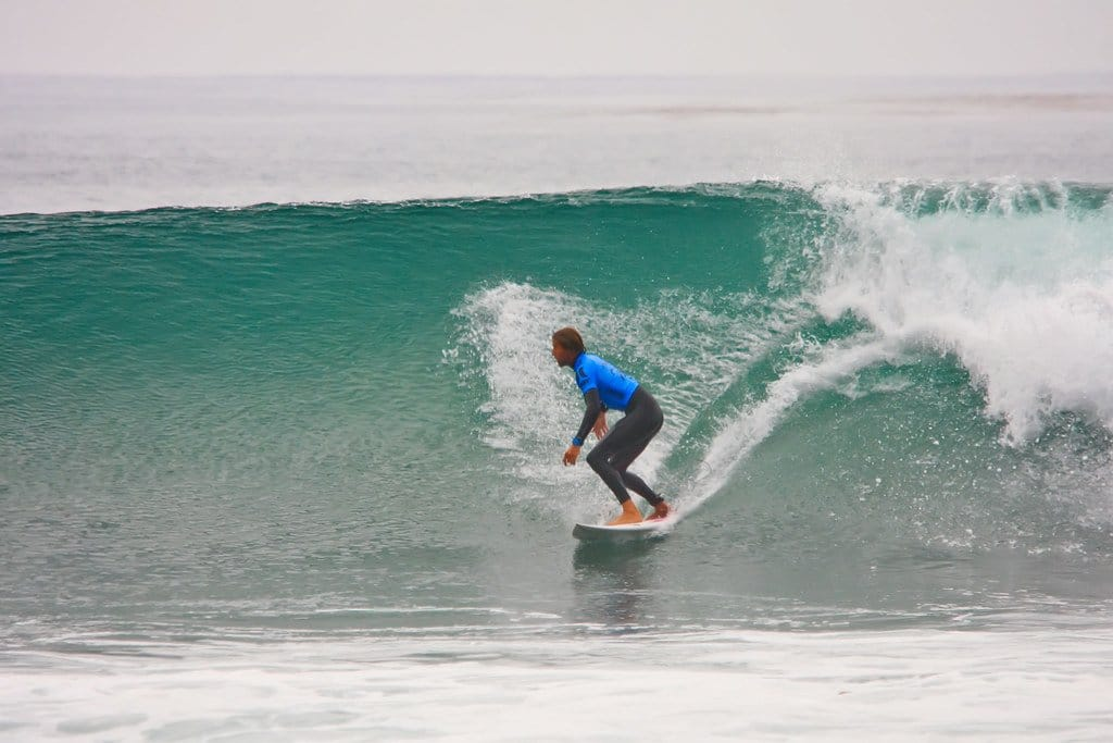 San Onofre State Beach is a surfer's paradise.