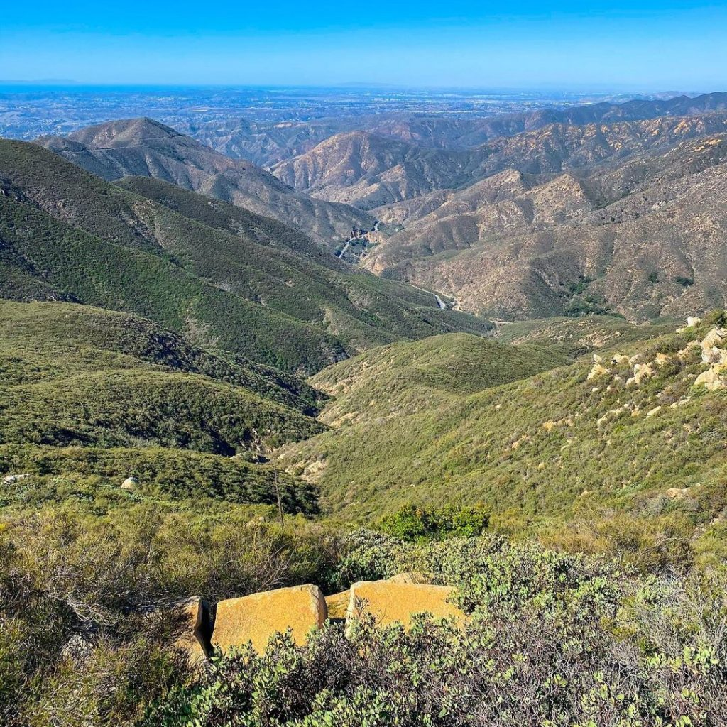 Sitton Peak is one of the best hikes in Orange County.