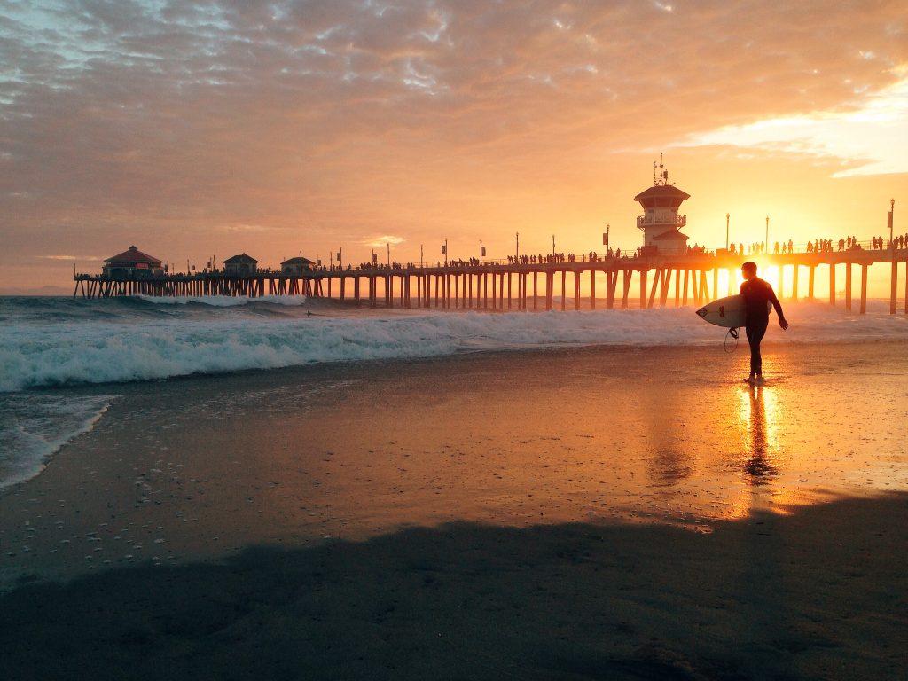 Huntington Beach Pier is a must-visit.