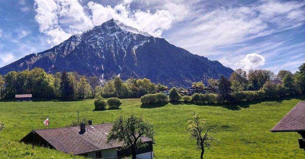 Mount Niesen is one of the best hikes in Switzerland.