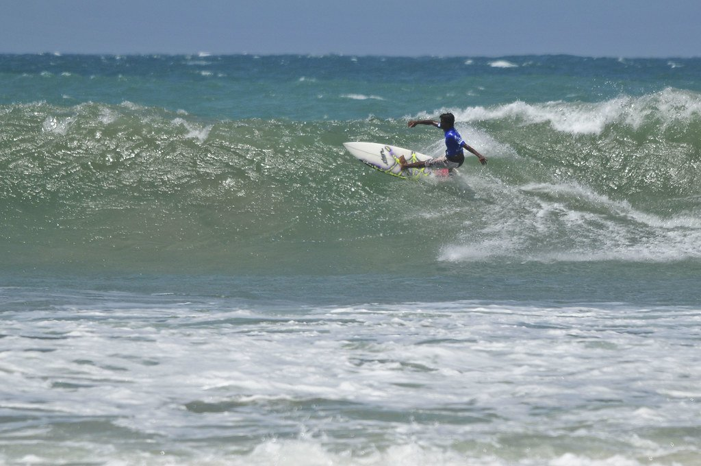 Arugam Bay is one of the best places to surf.