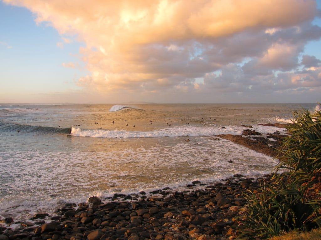 Crescent Head is an Australian surfing reserve.