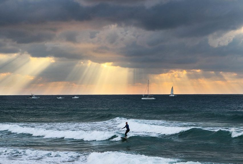 Hossegar in France is one of the best places to surf.