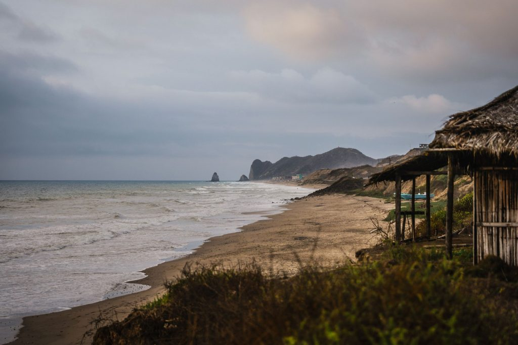 Canoa is one of the best places to visit in Ecuador.