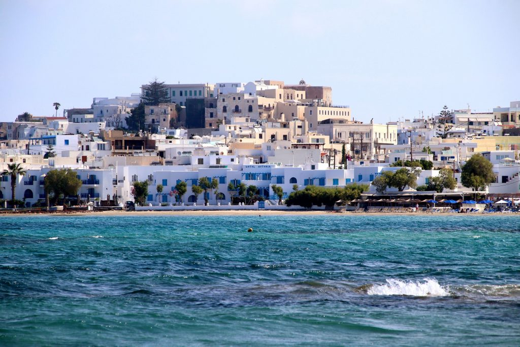Naxos is one of the best Greek islands for beaches.