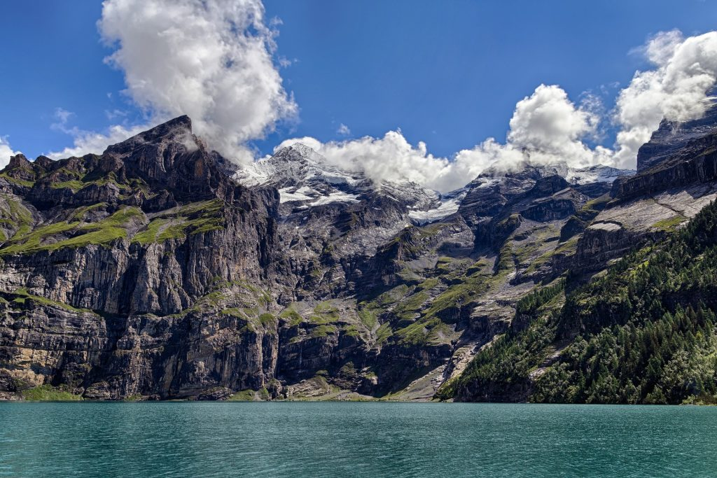 Oeschinesee Panorama Hike is one of the best hikes in Switzerland.
