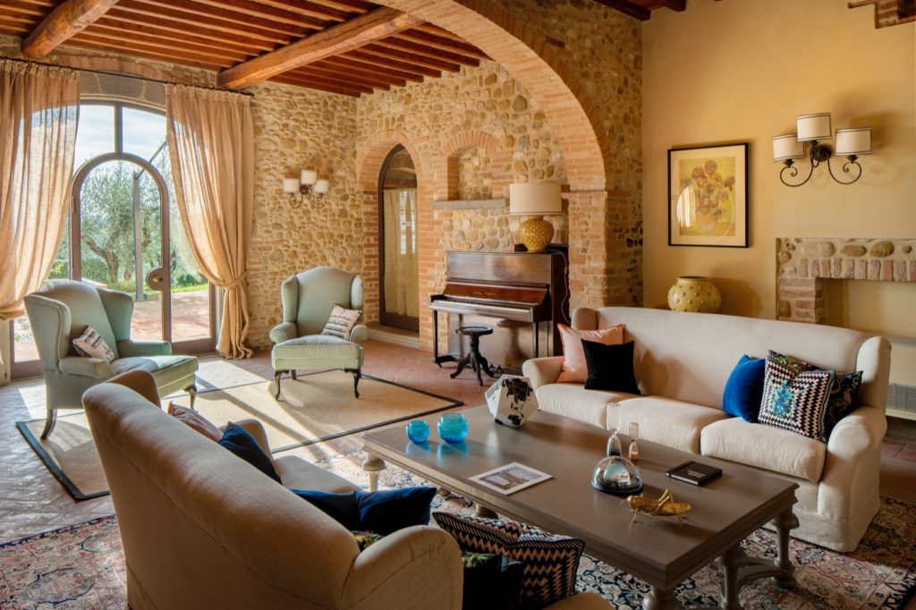 Stay among the olive groves at Sole del Chianti.