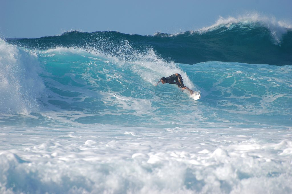 Hawaii's Pipeline tops our list of best places to surf in the world.