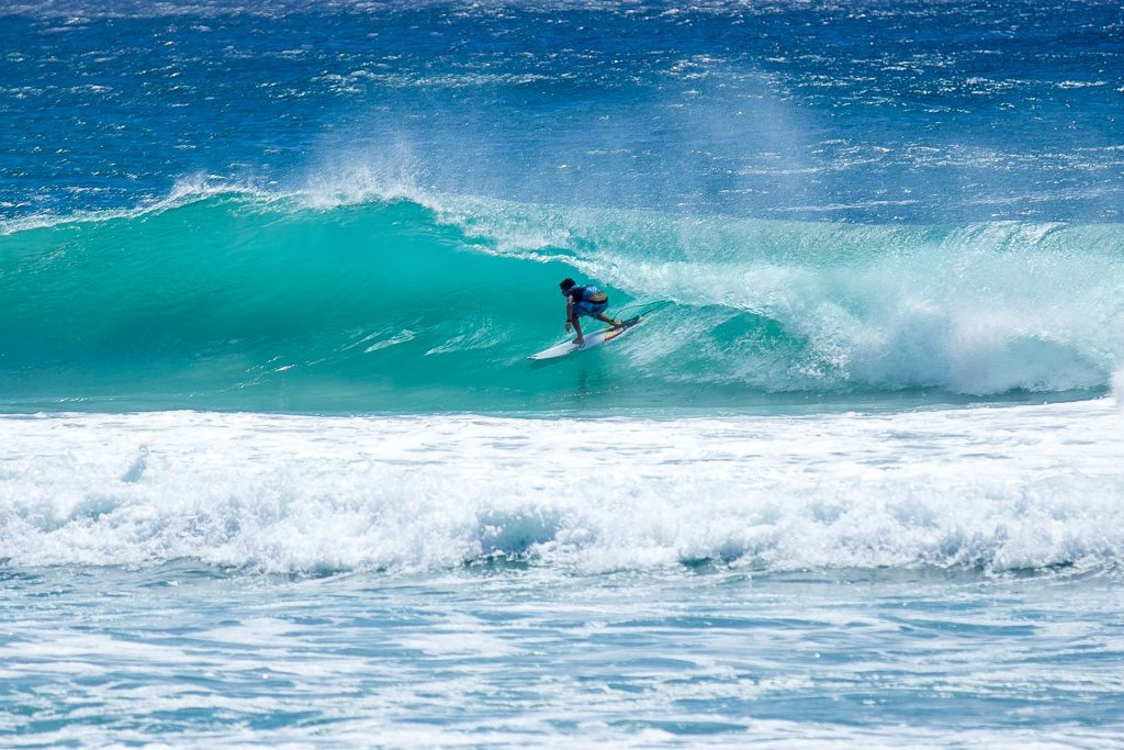 Byron Bay is a surfer's paradise.