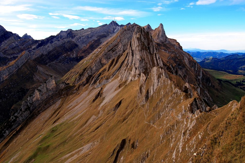 The Schäfler Ridge Hike offers amazing views.