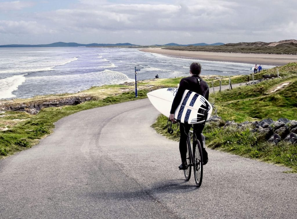 Bundoran is one of the best places to surf.