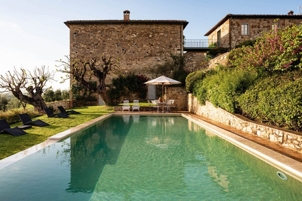 Where to stay in Tuscany? Our number one pick is Villa Alfieri.