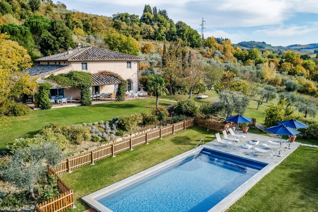 Villa Leonardo is under an hour from Florence.