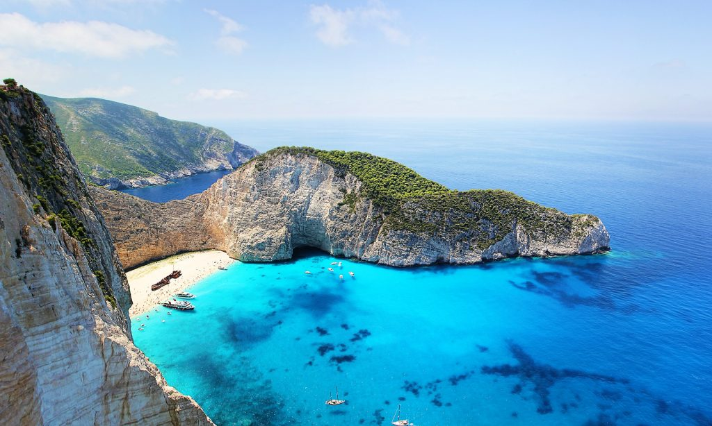 Zakynthos is one of the best Greek islands for beaches.