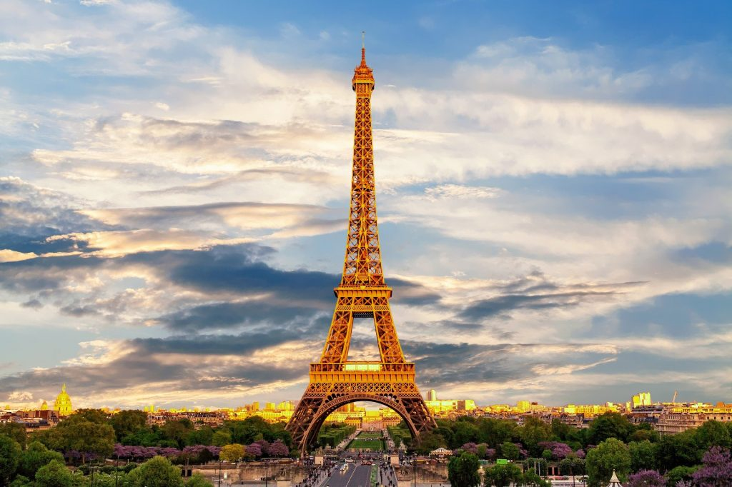 The Eiffel Tower tops our list of famous landmarks in Europe.