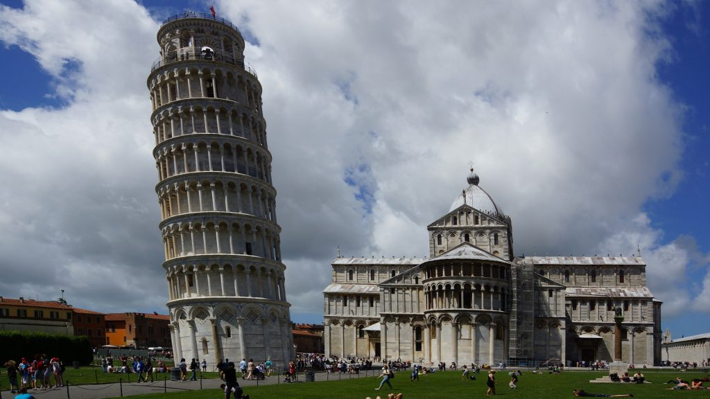 The Leaning Tower of Pisa is defined by its biggest fault.