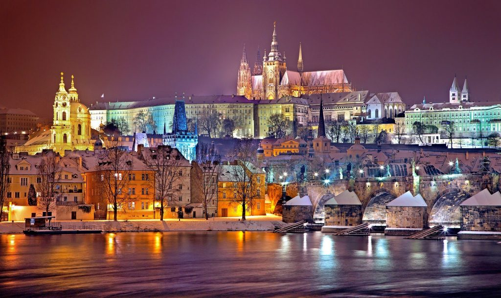 Prague Castle is one of the most famous landmarks in Europe.